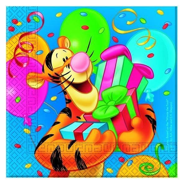 dekoracje urodzinowe kubuś i tygrysek