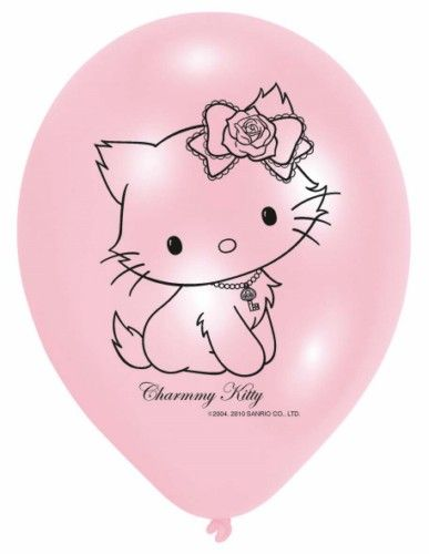 Balony Charmmy Kitty -  6szt./op.
